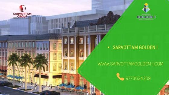 Buy commercial space in Noida Sarvottam Golden I