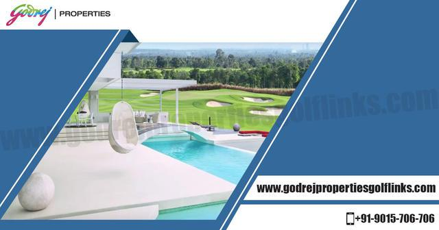Buy Ultra Luxury Apartments in Godrej Properties Golf Links