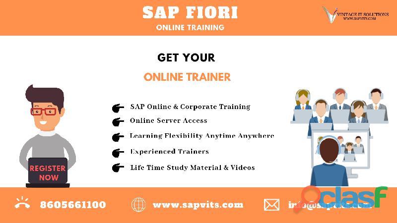 SAP Fiori Online Training | SAPVITS | India