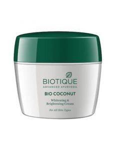 Biotique Coconut Whitening And Brightening Cream