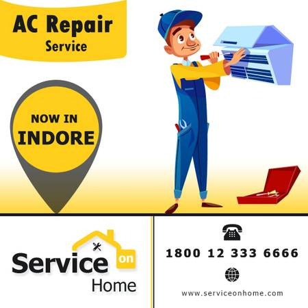 Get The Best A.C. Repair Services in Indore - Service On