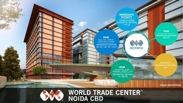To own an Office Space in WTC CBD Noida