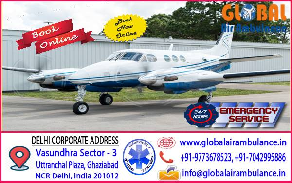 Global Air Ambulance Patna for the best Medical tourism