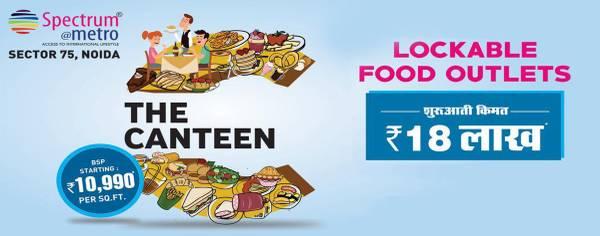 Own a premium Retail shops in Spectrum Metro Noida