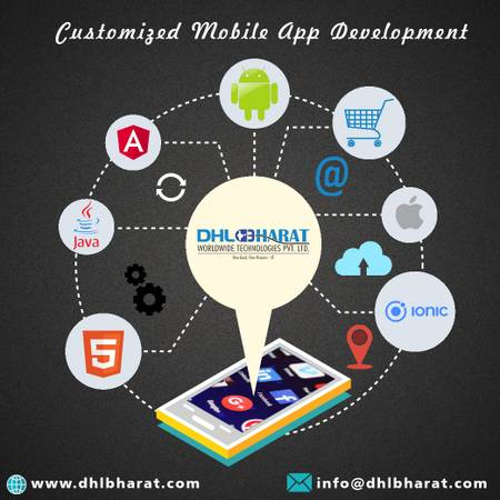Customized Mobile App Development Company in India.