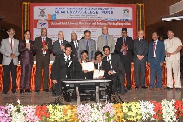 Admission open for Law Courses in Bharati Vidyapeeth Pune
