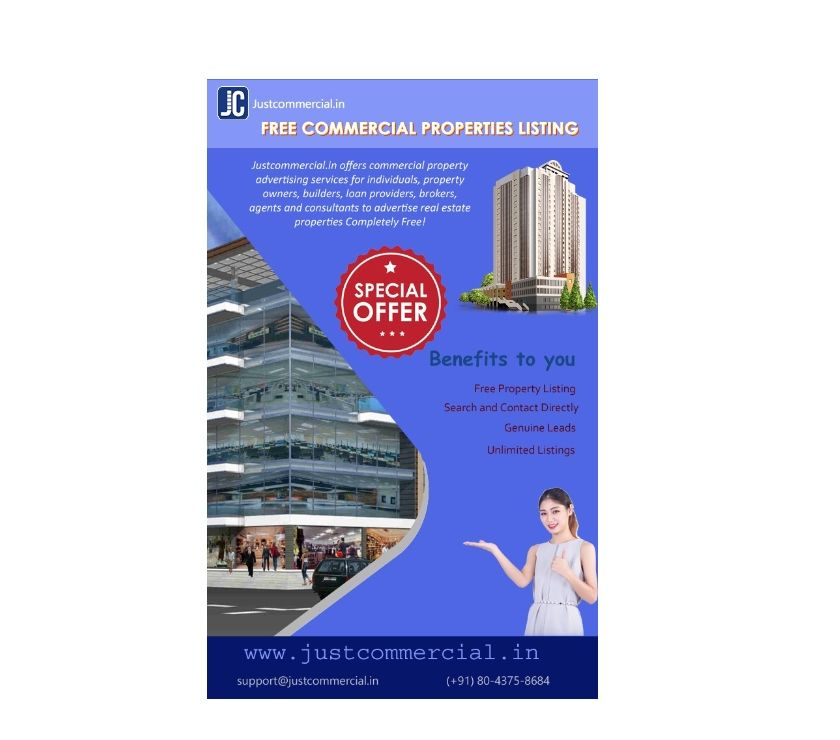 Commercial Property for Sale   Rent  Lease in justcommercial