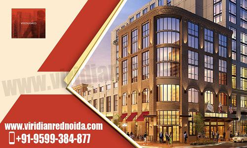 Buy exclusive commercial spaces at Viridian Red Noida