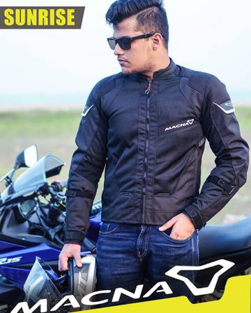 Best motorcycle jacket protection in India - Spartan