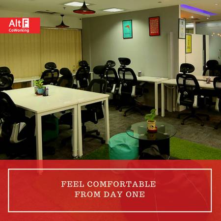 Shared Office Space AltF Plaza