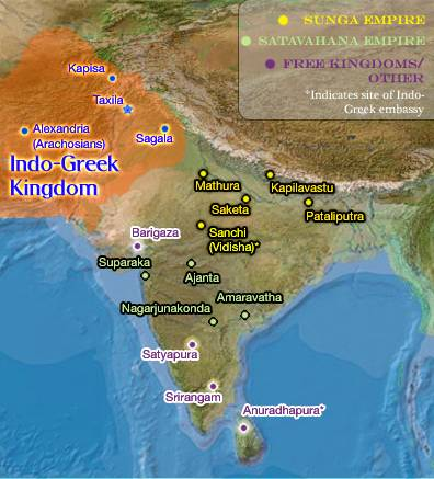 Formation of Indo Greek Kingdom and History