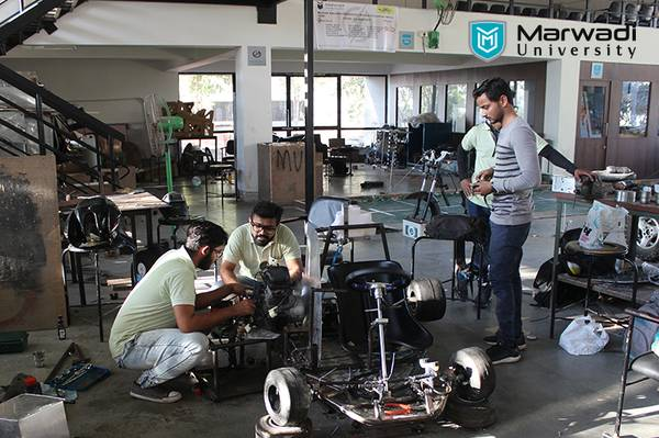5 Reasons to pursue Mechanical engineering from Marwadi