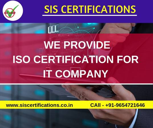 ISO  Certification for IT Company in Pune India