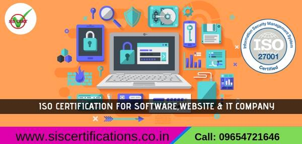 ISO  Certification for SOFTWARE Company in Bangalore