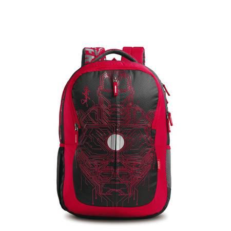 Skybags SB Marvel Plus 03 Black Iron Man Backpack
