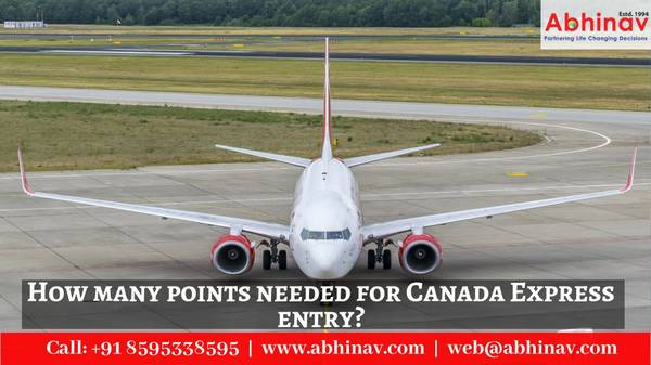 How many points needed for Canada Express entry?