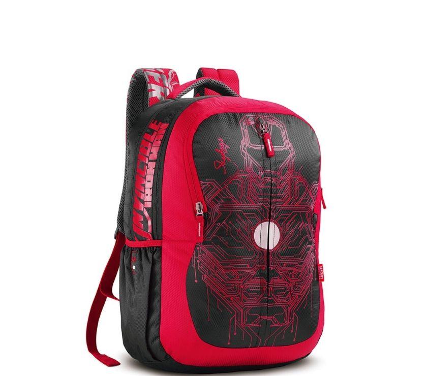 Skybags SB Marvel Plus 03 Black Iron Man Backpack Mumbai