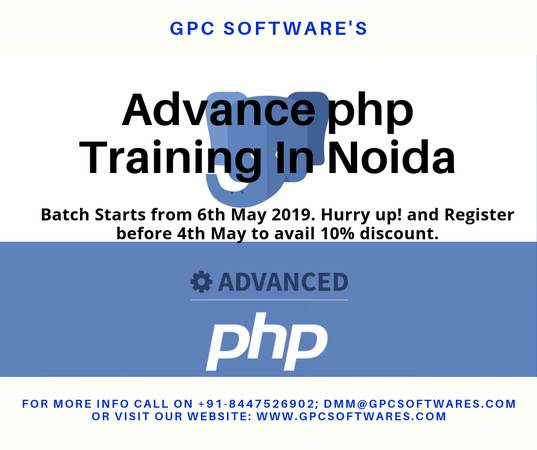 Best Advanced PHP training In Noida