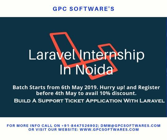 Get Best Laravel Internship In Noida
