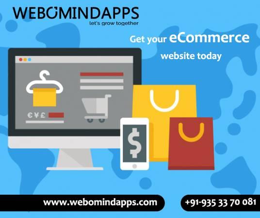 eCommerce Website Design Company in Bangalore - Webomindapps