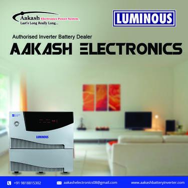 Advantages Of Installing Luminous Battery Aakash Electroni