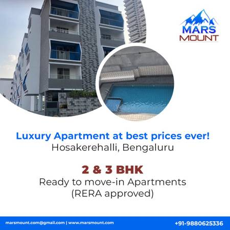 Luxury Apartments at best Prices Ever