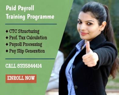 Payroll Management Training In Kolkata