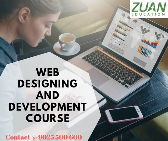 web designing course with placement