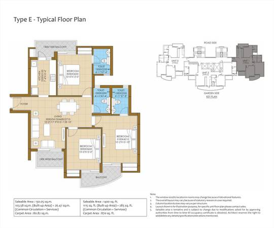 Pious Hideaways– Luxury 3BHK Apartment in Sector 150 Noida