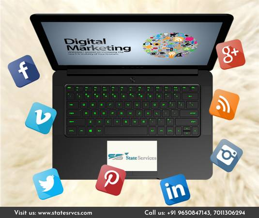 Digital Marketing Services in Delhi - State Services