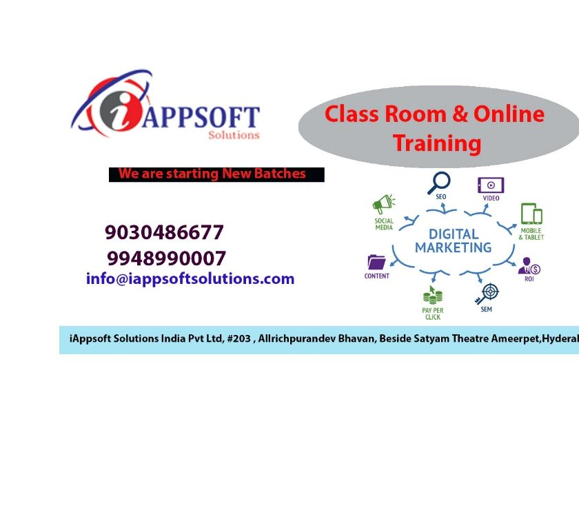 Digital Marketing Online Training | Digital Marketing Train