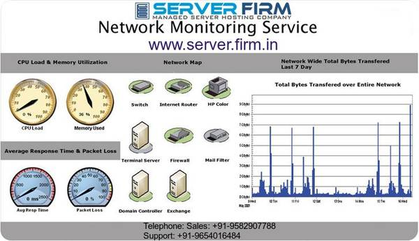 Networking Monitoring Management Service in India | Server