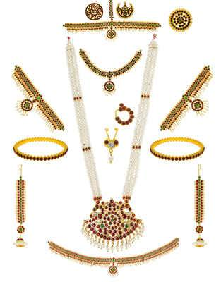 Buy Bridal Jewellery Set & Wedding Jewellery Online For