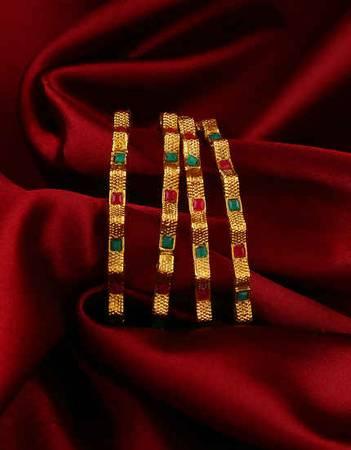 Buy Fancy Bangles Online: Latest Diamond Bangles Designs For