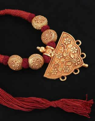 Buy Rajasthani Jewellery & Handmade Thread Jewellery Online