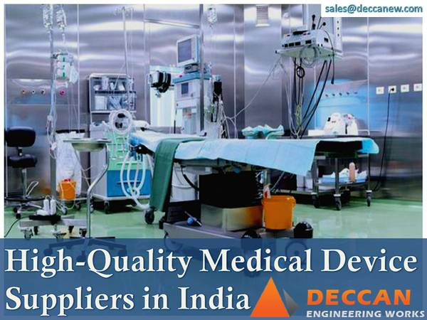 High-Quality Medical Device Suppliers in India