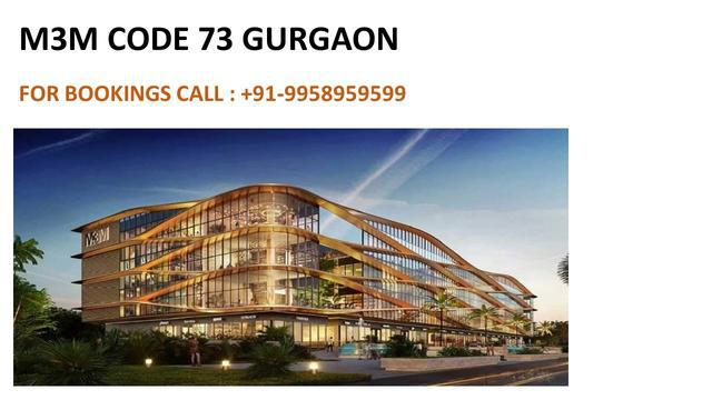 M3m new commercial projects on SPR Gurgaon m3m new launch in