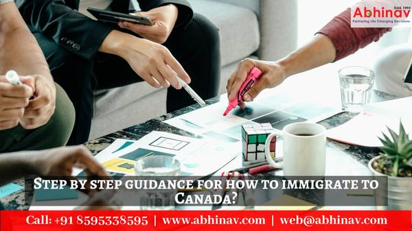 Step by step guidance for how to immigrate to Canada?