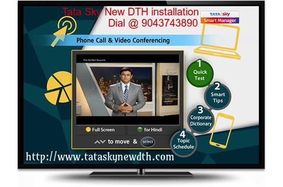 Tata Sky new installation