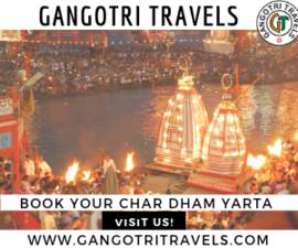 Best Haridwar to Char dham Tour Package with Gangotri