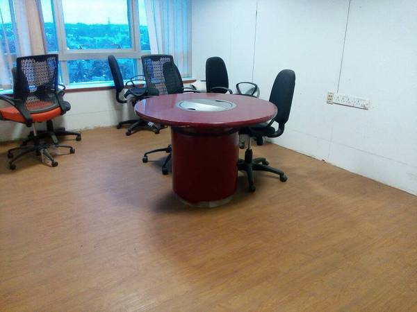 sqft semifurnished office space for rent at church st