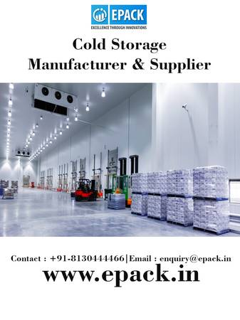 Cold Storage Manufacturers in India