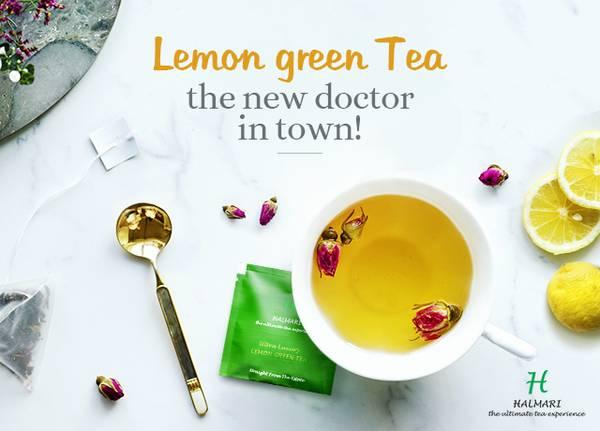 Purchase Halmari Gold Lemon Green Tea Now at Low Prices!