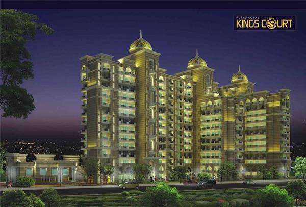 Purvanchal Kings Court: Luxury 3/4BHK Apartments in Gomti