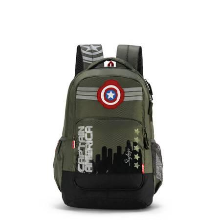 Skybags SB Marvel Captain America Olive Green School