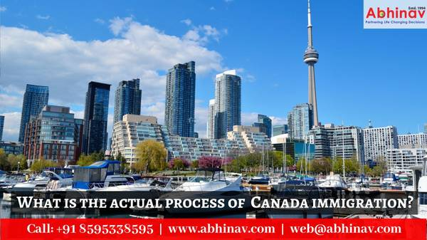 What is the actual process of Canada immigration?