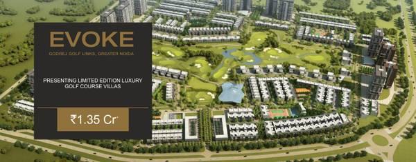 Purchase best property through Godrej Evoke villas