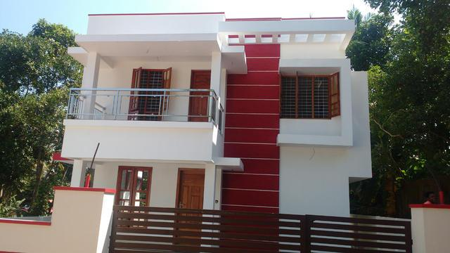 Vattiyurkkavu Munnamude 4 cents 1750sq 3 bhk new house at