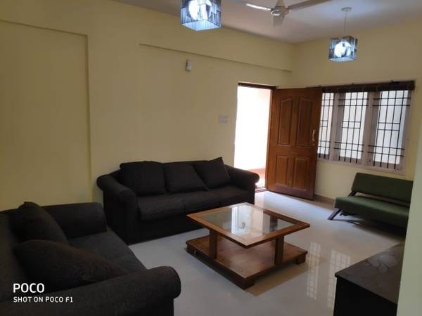 3 BHK 2 Bath Apartment for Rent at Hebbal Yelankha
