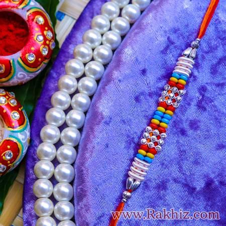 Buy Fancy Rakhi Online, Bhaiya Bhabhi Rakhi, Rakhi Pooja